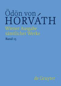 Wiener Ausgabe sämtlicher Werke / Jugend ohne Gott