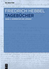 Friedrich Hebbel: Tagebücher / Kommentar und...