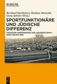 Sportfunktionäre und jüdische Differenz