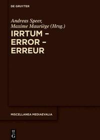 Irrtum – Error – Erreur