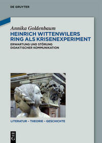 Heinrich Wittenwilers Ring als Krisenexperiment