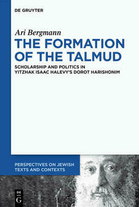 The Formation of the Talmud