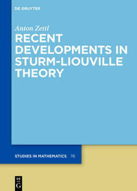 Recent Developments in Sturm-Liouville Theory