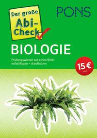 PONS Der große Abi-Check Biologie