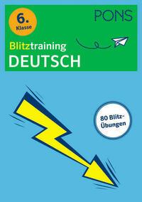 PONS Blitztraining Deutsch 6. Klasse