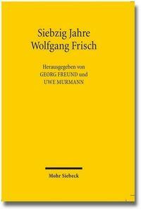 Siebzig Jahre Wolfgang Frisch
