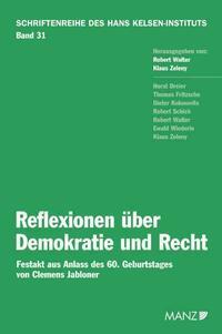 Reflexionen über Demokratie und Recht