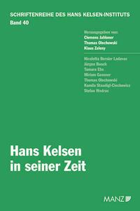 Hans Kelsen in seiner Zeit