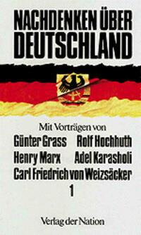 Nachdenken über Deutschland 1