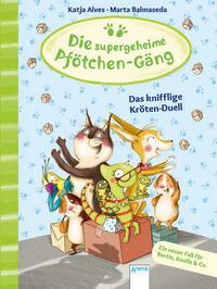 Die supergeheime Pfötchen-Gäng (4). Das knifflige Kröten-Duell