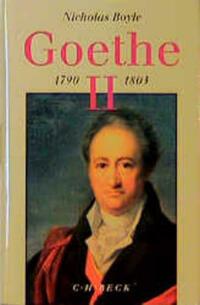 Goethe Bd. 2: 1790-1803