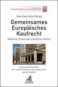 Gemeinsames Europäisches Kaufrecht