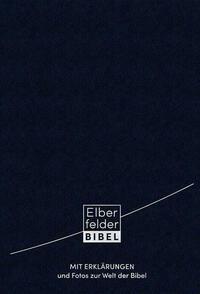 Elberfelder Bibel mit Erklärungen - Leder