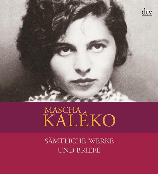 Sämtliche Werke Und Briefe In Vier Bänden Von Mascha Kaléko Jutta Rosenkranz Mascha Kaléko