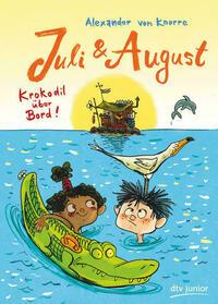 Juli und August – Krokodil über Bord