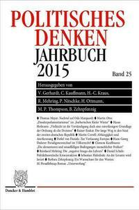 Politisches Denken. Jahrbuch 2015.