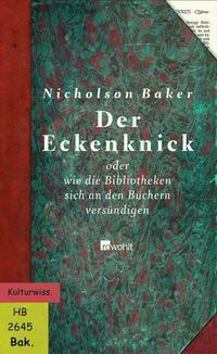 Der Eckenknick