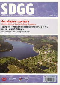 Grundwasserressourcen: Charakterisierung, Bewirtschaftung, Prognosen