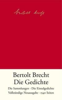 DIE GEDICHTE von Bertolt Brecht - faltershop.at