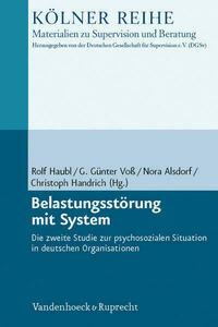 Belastungsstörung mit System