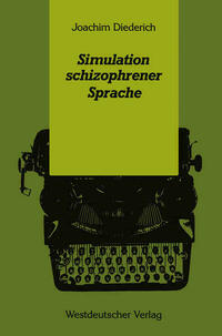 Simulation schizophrener Sprache