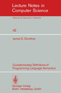 Complementary Definitions of Programming Language Semantics