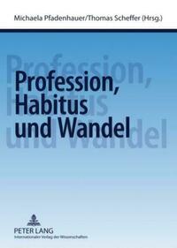Profession, Habitus und Wandel