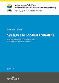 Synergy and Goodwill Controlling