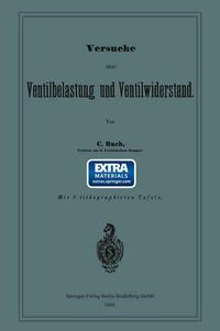 Versuche über Ventilbelastung und Ventilwiderstand