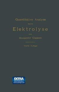 Quantitative Analyse durch Elektrolyse