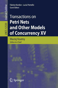 Transactions on Petri Nets and Other Models of Concurrency XV