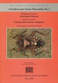 Checklisten der Fauna Österreichs, Nr. 2 - Heteroptera (Insecta) Cerambycidae (Insecta: Coleoptera)
