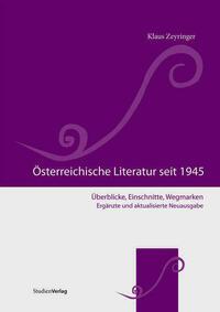 Österreichische Literatur seit 1945