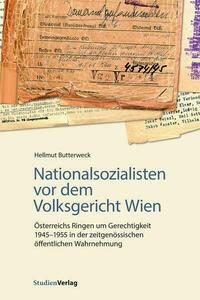 Nationalsozialisten vor dem Volksgericht Wien