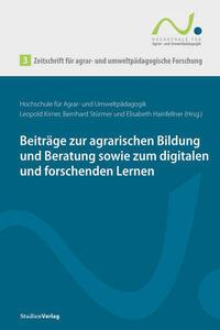 Zeitschrift für agrar- und umweltpädagogische Forschung 3