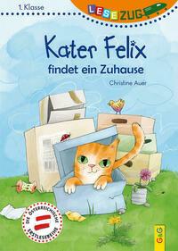 LESEZUG/1. Klasse: Kater Felix findet ein Zuhause