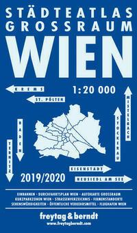 Wien Großraum Städteatlas, Stadtplan...