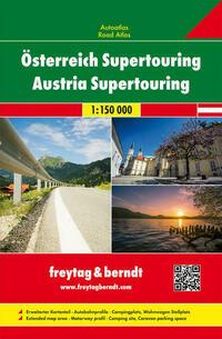 Österreich Supertouring, Autoatlas 1:150.000