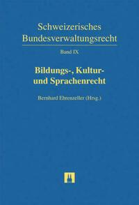 Bildungs-, Kultur- und Sprachenrecht