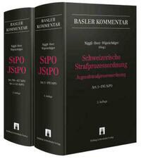 Schweizerische Strafprozessordnung/Jugendstrafprozessordnung (StPO/JStPO)