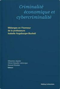 Criminalité économique et cybercriminalité