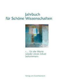 Jahrbuch für Schöne Wissenschaften, Band 3