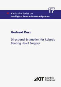 Directional Estimation for Robotic Beating Heart Surgery