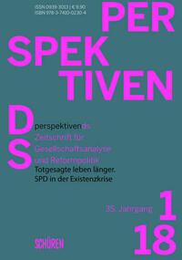 Totgesagte leben länger. SPD in der Existenzkrise