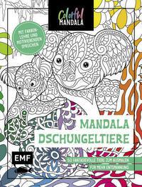 Colorful Mandala – Mandala – Dschungeltiere