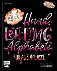Handlettering 44 Alphabete – Für alle Anlässe – Band 3