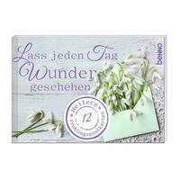 Postkartenbuch »Lass jeden Tag Wunder geschehen«