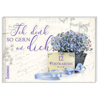Postkartenbuch »Ich denk so gern an dich«