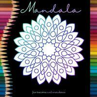 Mandala Malbuch für Senioren und Erwachsene...