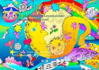 Ein phantastischer Katzenkalender: Magisches Katzenland